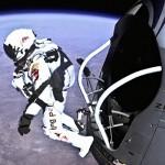 【大気圏突破!】宇宙からのスカイダイビングがスゴすぎる #60秒に注目